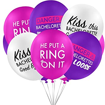 Bachelorette Party Decorations Balloons For Themed Parties Supplies Favors Bags 15 Count