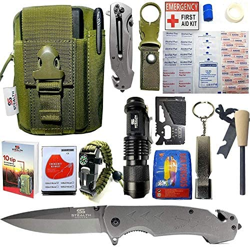 STEALTH SQUADS Survival Multi Tool Emergency