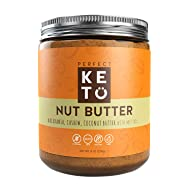 Perfect Keto Nut Butter Snack: Fat Bomb to Support Weight Management on Ketogenic Diet. Ketosis Superfood Raw Nuts. Cashew Macadamia Coconut Vanilla Sea Salt. Paleo, Gluten Free & Vegan Low Carb Snack