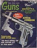 img - for Guns: Finest in the Firearms Field, vol. XV, no. 9-12 (December 1969): Beretta AL-2 Shotgun, Astra Condor, 1855 Springfield Pistol-Carbine, Converting M-1 Carbine to 9mm Kurtz, Reinhart Fajen book / textbook / text book