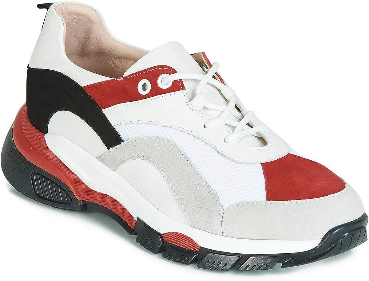 Tosca Blu Kelly Sneaker Damen WeissRot Sneaker Low Shoes
