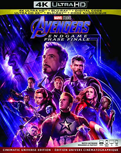 Avengers: Endgame [4K Ultra HD + Blu-ray + Digital] (Bilingual)