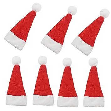 Amazoncom Mini Santa Hats For Crafts Popmall 20 Pcss Mini Diy
