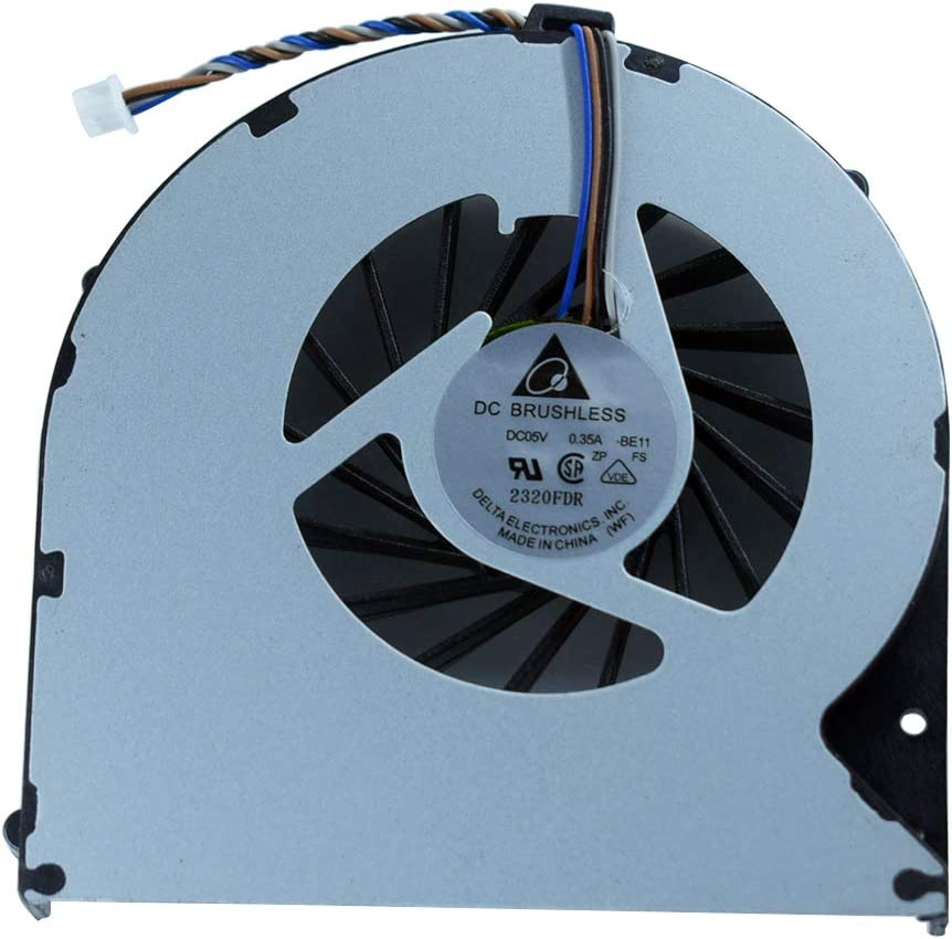 New Rangale CPU Cooling Fan Compatible for Toshiba Satellite P870 P870D P875 P875-S7310 P875-S7102 P875-S7200 P875-S7310 P875 P875-31l Series KSB06105HB-BK41