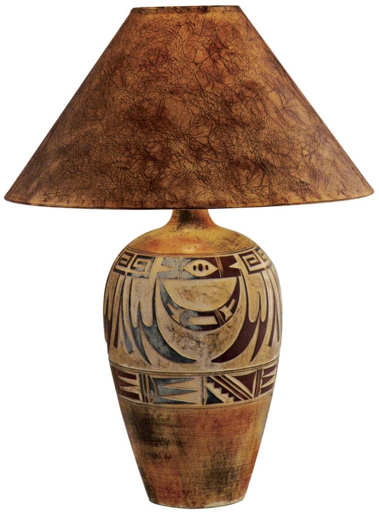 Attractive Indian Marigold Handcrafted Southwest Table Lamp   Southwestern Decor    Amazon.com