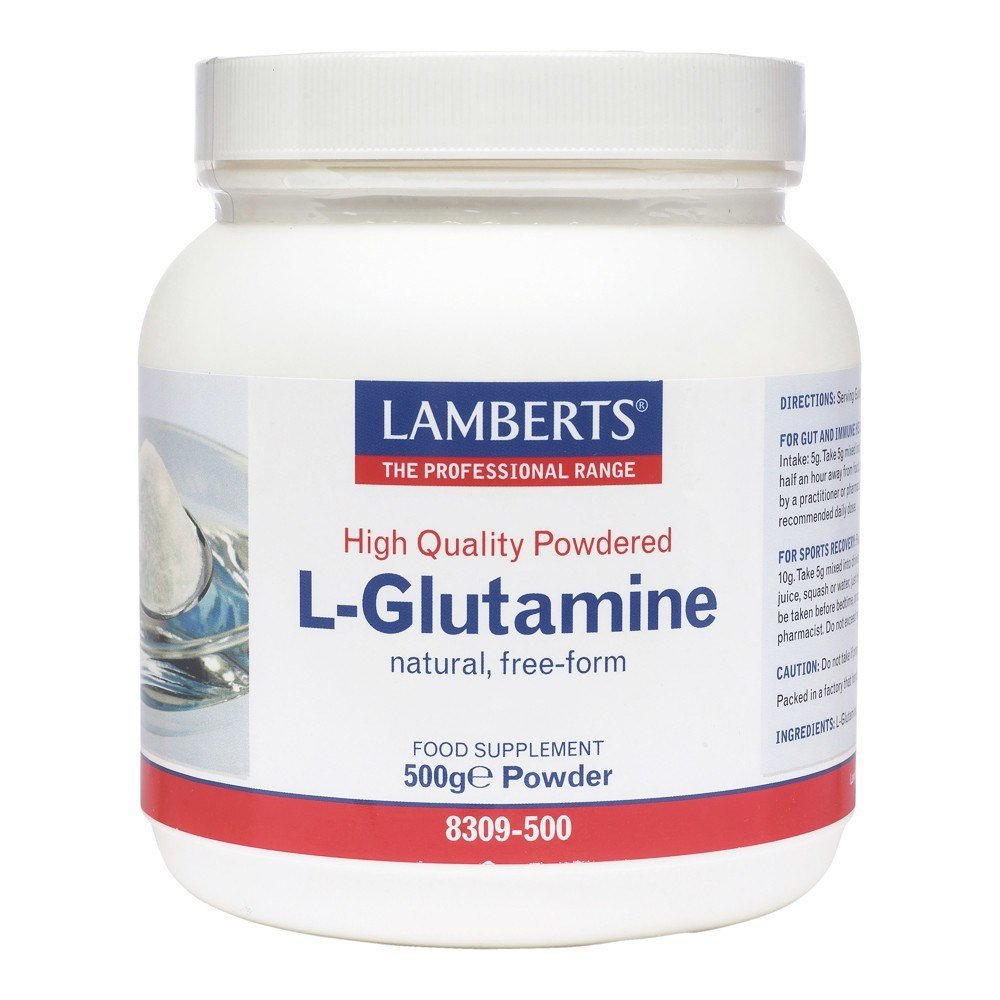 Amazon.com: LAMBERTS L-Glutamina en Polvo, 500 g: Health ...