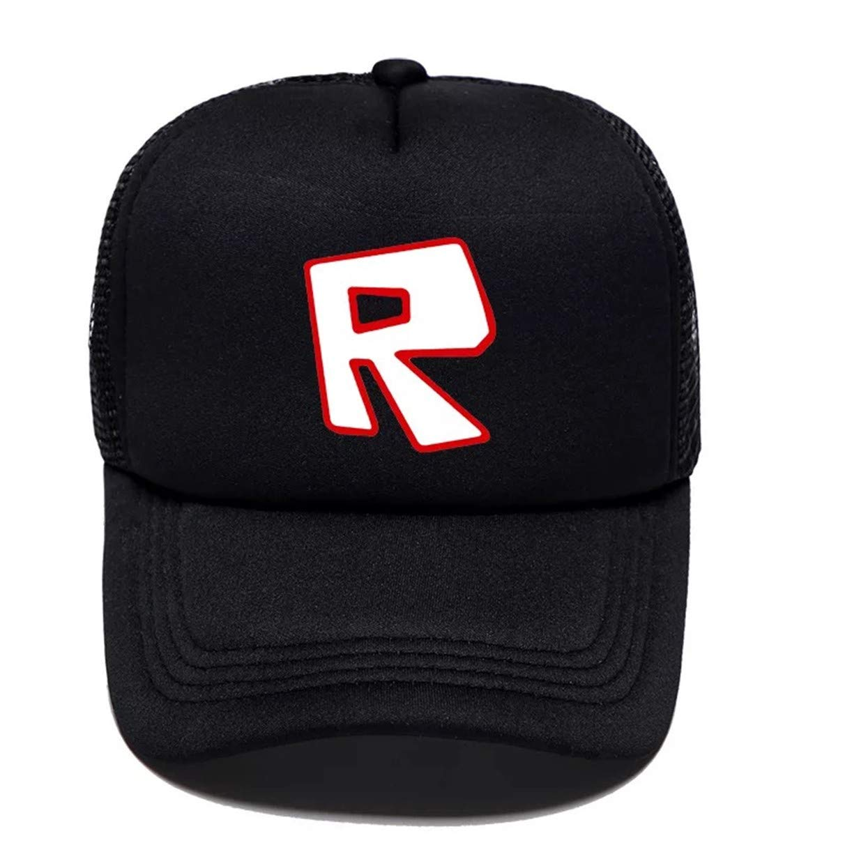 KK-Jim Kids Roblox Baseball Caps Hat-Adjustable Roblox Peaked Caps for Boys Girls