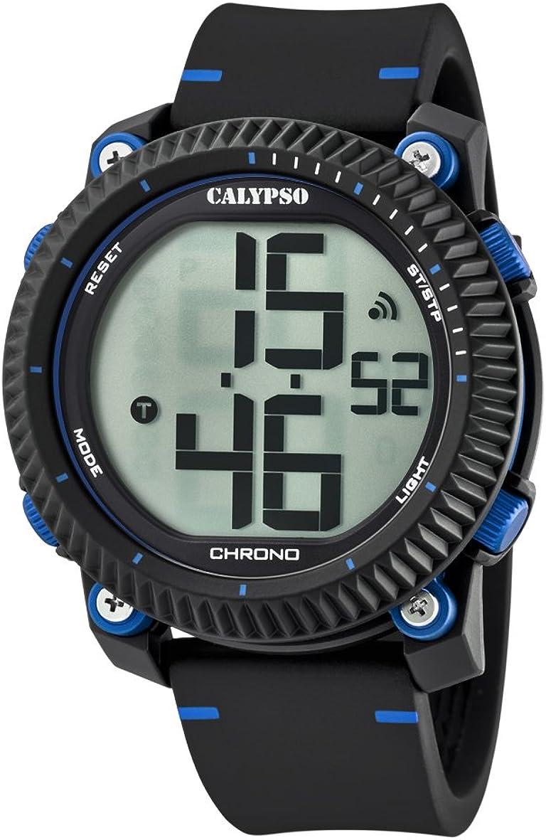 Calypso Reloj Digital para Hombre de Cuarzo con Correa en Plástico K5731/2