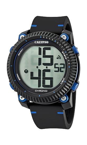 Calypso Reloj Digital para Hombre de Cuarzo con Correa en Plástico K5731/2: Calypso: Amazon.es: Relojes