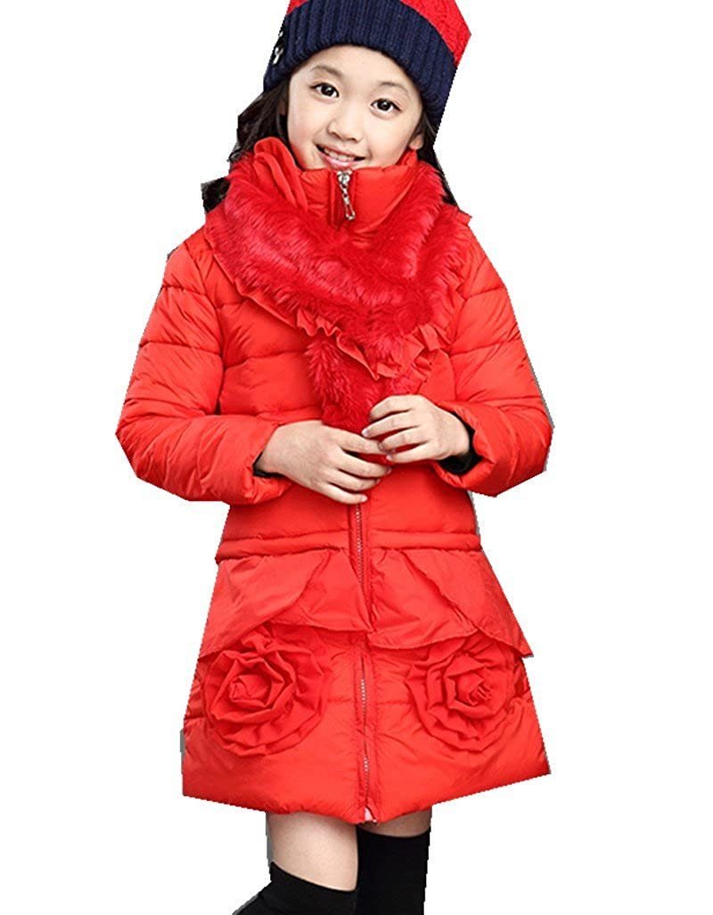 Girls' Winter Children's Thickened Down Cotton Padded Jacket Kids Clothes MV