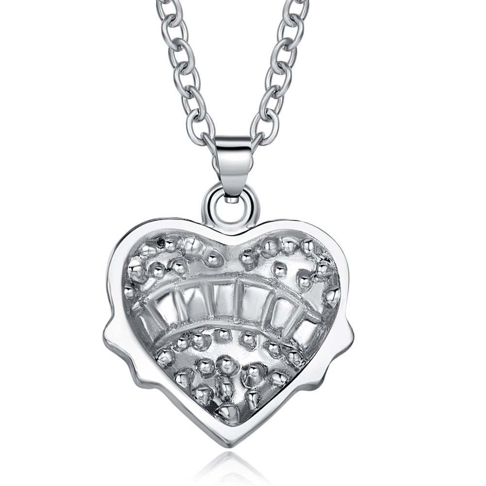 ELOI Big Sister Necklace Crystal Heart Sister Pendant for Kids BFF Best Friends 18 inches Zeran B01FTMFG6Q/_US