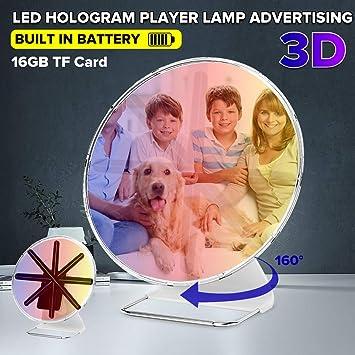 Pantalla holográfica en 3D, proyector holográfico Digital con ...