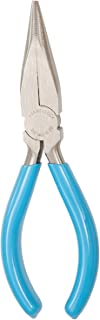 product image for Channellock 3026 6-Inch Long Nose Plier Blue, 6-Inch No Cutter