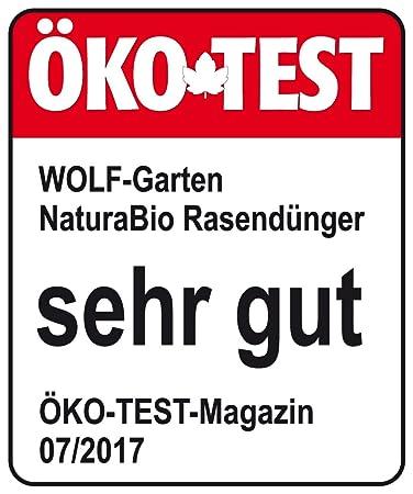 Wolf Garten Natura Bio Rasendünger Für 280 M² Nr 189 Amazonde