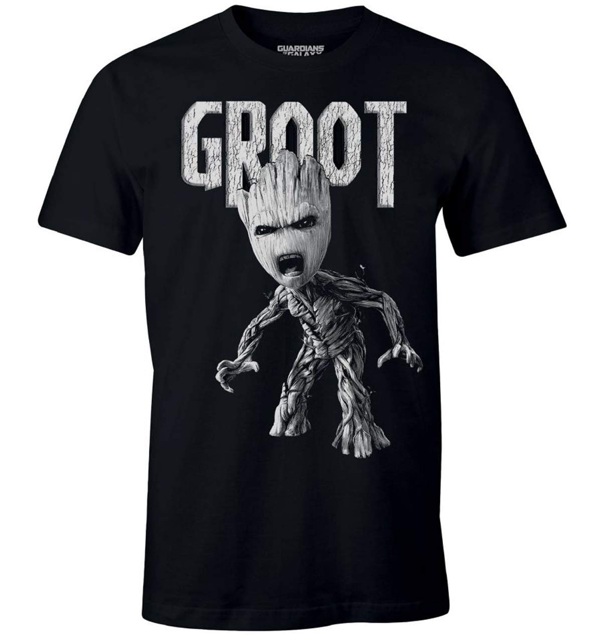 Guardians Of The Galaxy I Am Groot Avengers Bw Tee Tshirt S Unisex