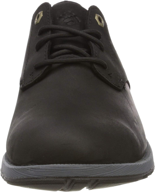 Columbia Grixsen Oxford WP, Chaussures Casual Homme Noir Black Graphite