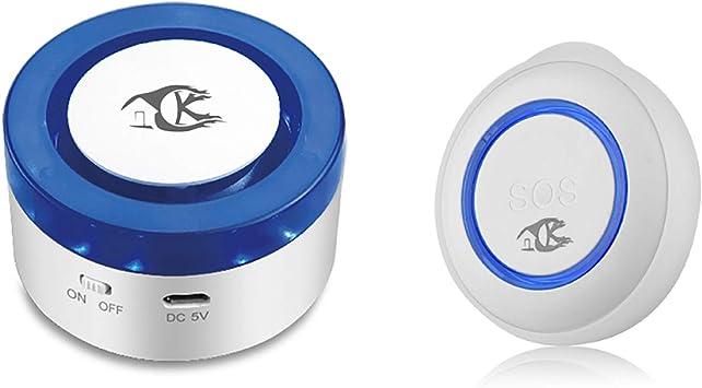 SOS care system for elderly wireless sensors elderly home monitoring system