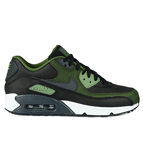 buy popular a81de f1c5b ZAPATILLAS NIKE AIR MAX 90 PREMIUM NEGROVERDE HOMBRE 43 Verde Amazon.es  Zapatos y complementos