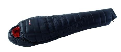 Abajo saco de dormir momia Wilsa 650, 90% ganso blanco abajo, Tactel autoplex