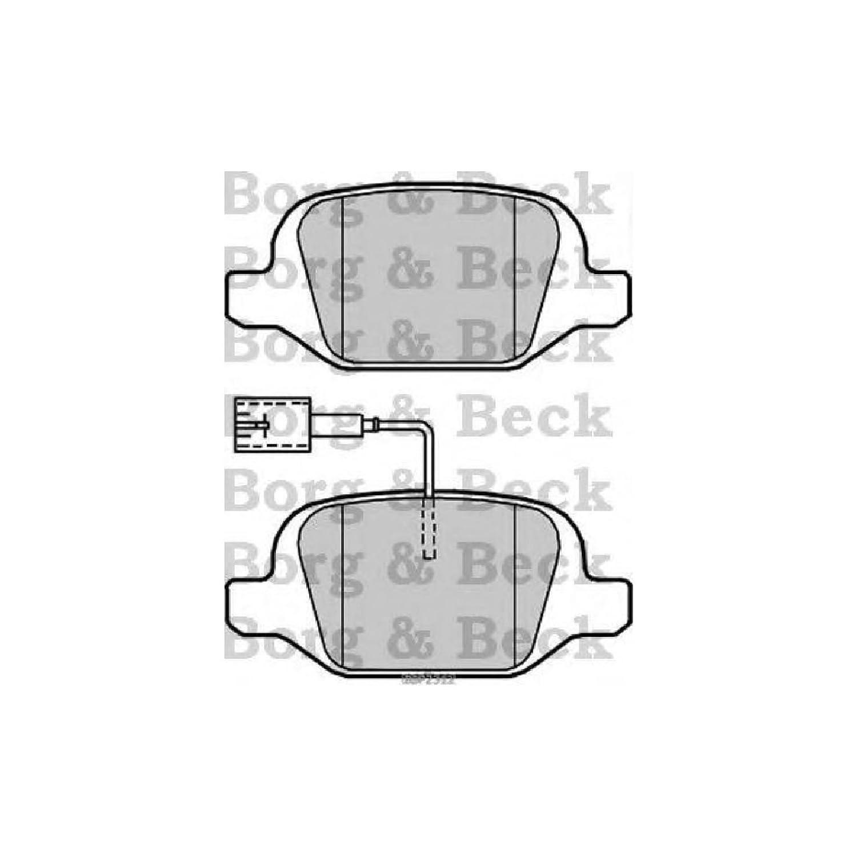 Borg & Beck BBP2307 Kit de Patins de Frein