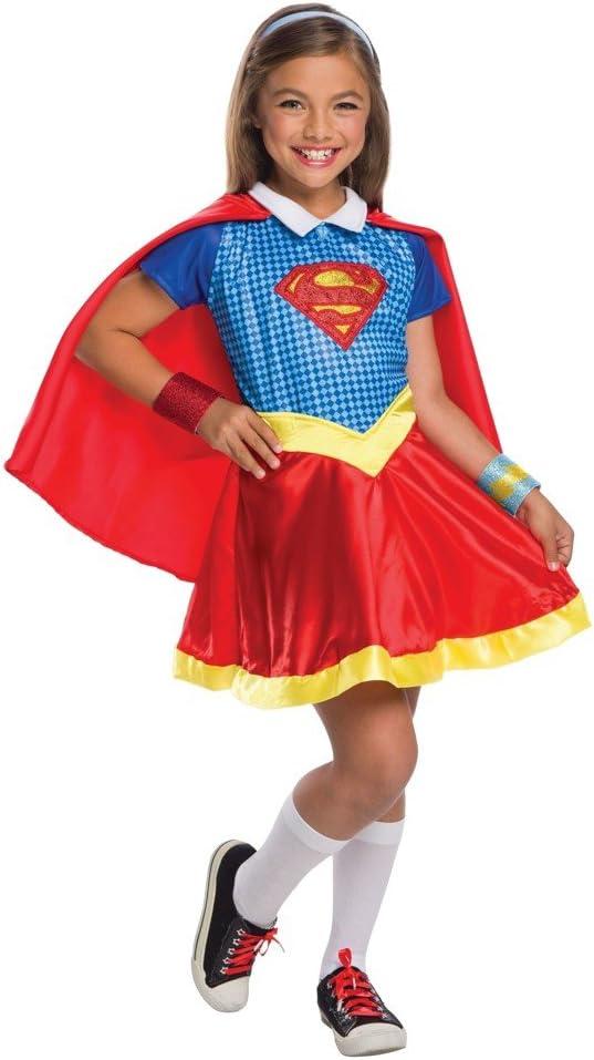 Onceuponasale L12-14 DC Comics - Disfraz de superhéroe para niña ...