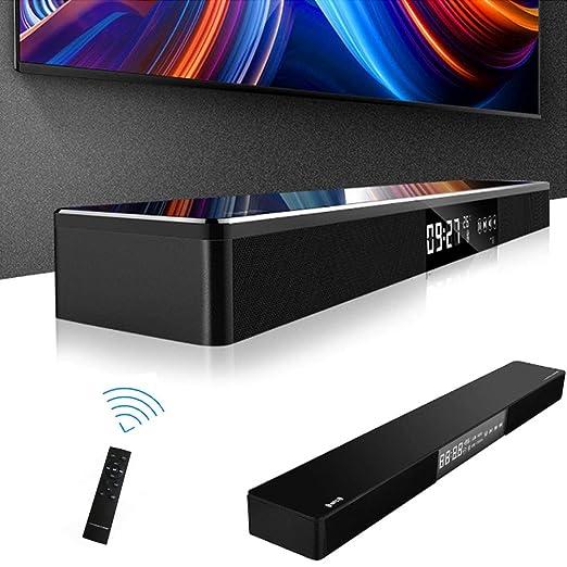 WHCCL Barra de Sonido, NFC TV Altavoz Bluetooth Altavoces duales ...