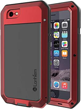 Lanhiem Funda iPhone 6 Plus / 6S Plus, [Rugged Armour] Antigolpes ...