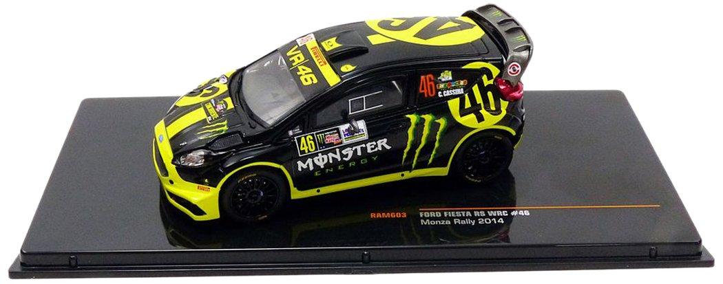 Ixo Ford Fiesta Rs WRC # 46Valentino Rossi Monza Rally 2014 RAM603