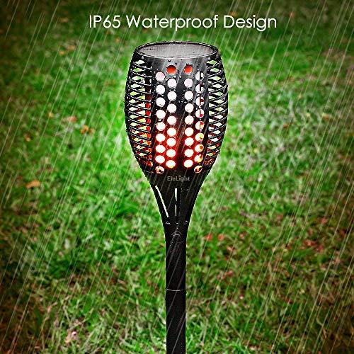 Amazon.com: elelight 2 unidades Luz solar linterna luces, 96 ...
