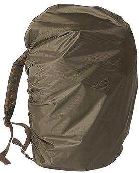 Mil-Tec BW - Funda impermeable para mochila, estilo militar, color verde: Amazon.es: Deportes y aire libre