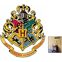 Fan Pack - Hogwarts Crest from Harry Potter Wall Mounted Cardboard Cutout - Includes 8x10 Star Photo