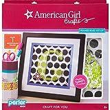 Best American Girl Crafts The American Girl Dolls - American Girl Crafts 30-726468 Framed Perler Art Kit Review