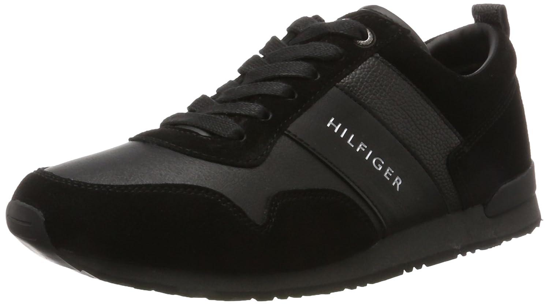 Tommy Hilfiger M2285Axwell 11C1, Zapatillas para Hombre, Negro (Black), EU