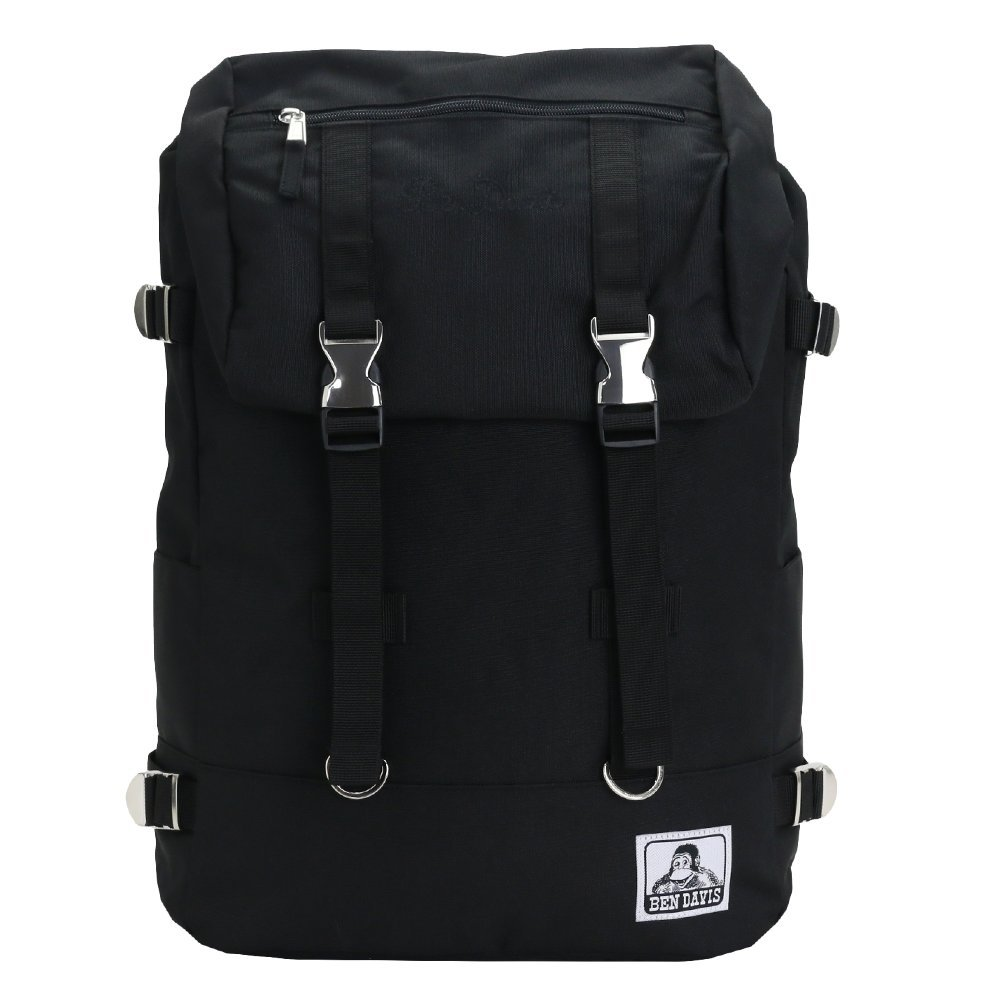 [ベン デイビス] リュックサック ベンデイビス人気NO.1のリュックサック BDW-9061 B071141SBY ブラックブラック ブラックブラック