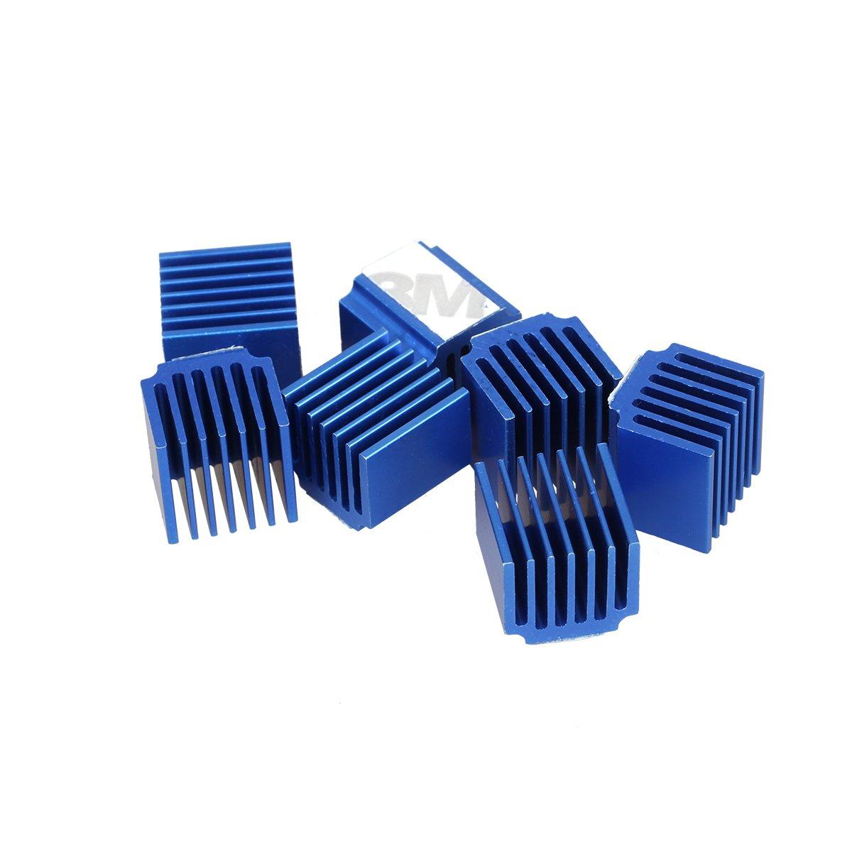 3D Printer Parts Heat Stepper Block Aluminum Cooling Motor Driver Sink Accessory