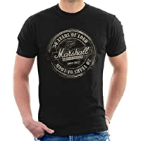 Marshall Amplification Men'S T-Shirt 50 Years Of Loud Inspired