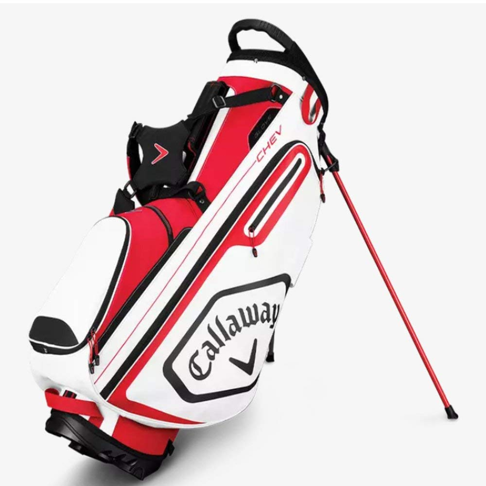 Callaway Golf 2019 Chev Stand Bag, Red/White/Black by Callaway