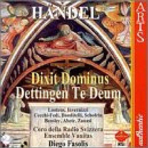 Handel: Dettingen Te Deum/Dixit Dominus By Georg Friederich Handel (Composer) (2008-12-18)