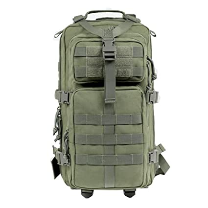 caeae702a3d9 Image Unavailable. Image not available for. Color  Dyytrm Tactical Military  Camouflage Backpack Large Assault Backpack 56-75L Waterproof Bag Hunting  Camping ...