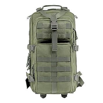 Tactical Camuflaje Militar Mochila Gran Asalto Mochila 56-75L Impermeable Bolsa De Caza Que Acampa Senderismo Outdoavel: Amazon.es: Deportes y aire libre