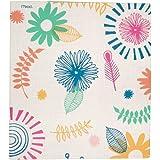 """Mead 3 Ring Binder, 1"""", Botanical Boutique, Floral Design (73839)"""