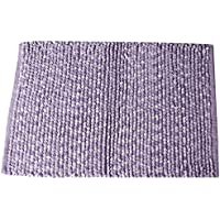 Saturday Knight Shimmer Stripes Bath Rug