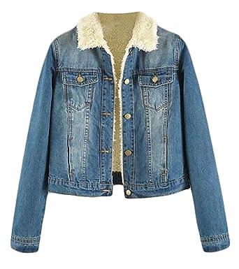 Arrive Guide Women S Lined Fleece Lapel Fur Collar Outwear Parka