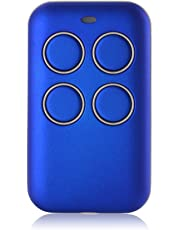 XCSOURCE Multi-Frequency Key Fob 433 868 315 MHz Universal Garage Door Cloning Remote Control Fixed Code Rolling Code Duplicator Blue HS1076