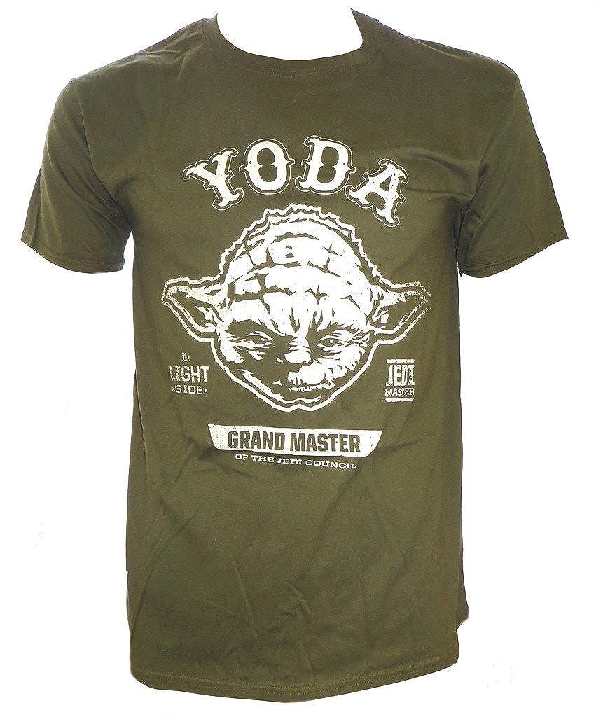 Star Wars Yoda Khaki Uomini t-Shirt