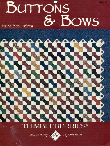 Buttons & Bows (Quilt Pattern) (LJ (Jensen Button)