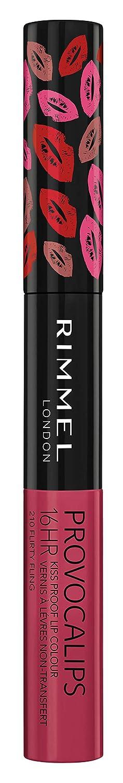 Rimmel Provocalips 16hr Kiss Proof Lip Colour, Flirty Fling (1 Count)