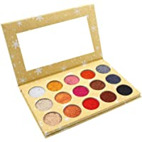 Pearl Waterproof and Durable Eye Shadow 15 Colors Glitter Eye Shadow Palette Bright Powder Sequins