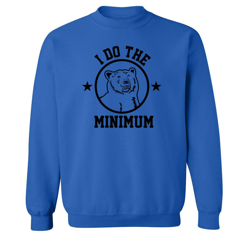 zerogravitee I Do The Bear Minimum Crewneck Sweatshirt
