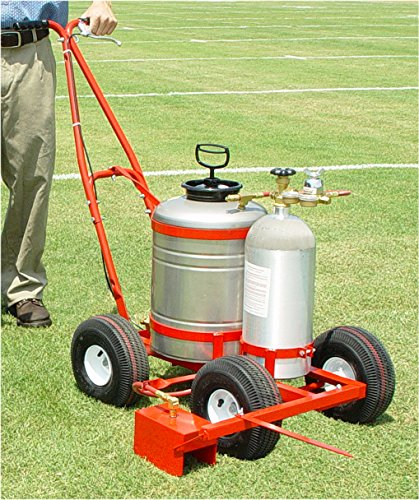 - Football Soccer Field Painter Model 120 Trueline Striper with 7 Gallon Paint Tank/without 20 lb. CO2 Cylinder